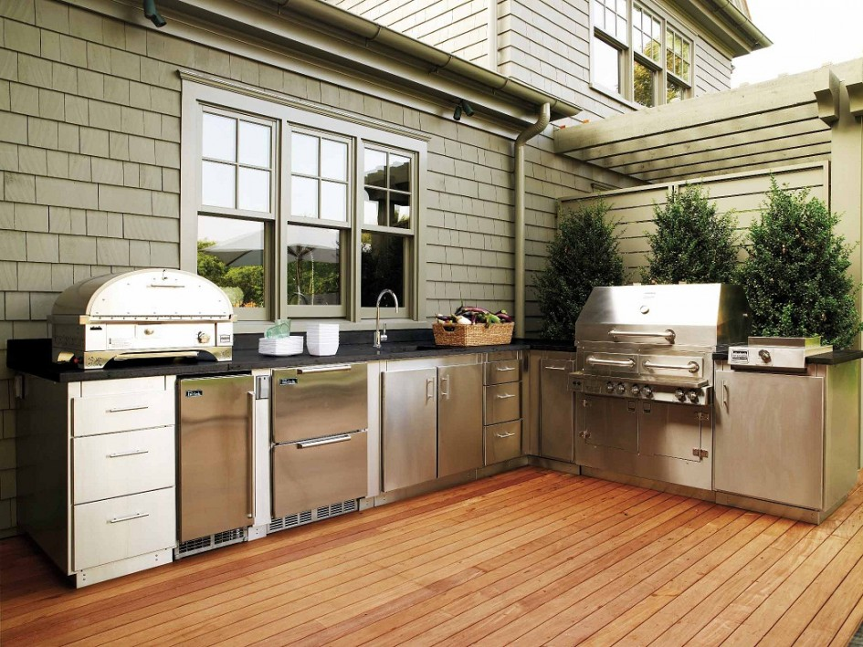 Outdoor Kitchen Cabinets Tremendous Small Outdoor Refrigerator Cabinet